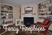 Fancy Fireplaces / A home in New England is not complete without a fireplace for extra warmth in the cold months