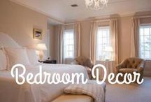 Bedroom Decor / The bedroom is your retreat away from the world.