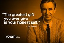 Mister Rogers - the sweetest <3
