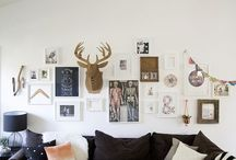 | Living Room Ideas | / Small space. Simple style. Cozy. Fun.  / by Lauren Ohlman
