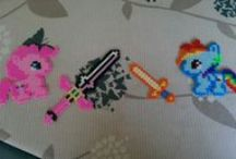 Hama Bead Crafts / A collection of different Hama Bead Crafts to try out.  / by Rachel Dominique Goh