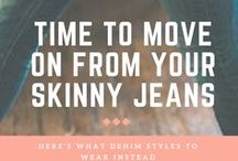 Personal Style: JEANS / Denim inspiration. Discover fresh ways to style your jeans so you move through life with more confidence and ease