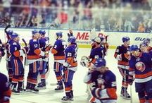 By you, the fans / When we see stuff that you post, we will repin it here.  / by New York Islanders