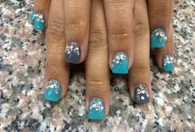 My nail designs / If you like the designs, like our FB page, www.fb.com/star.nails.arl2 / by Tammy Vu