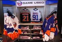 Exclusive Clothing and Equipment / Check out all of the Islanders game-used equipment, school supplies and coolest clothing for this fall and winter!