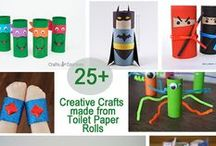 Toilet Paper Tube Crafts / Sharing fun toilet paper tube craft projects to inspire memory making / by Jen Wright