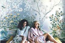 wallpaper, fabrics & paints / prints & patterns // stripes & shapes  / by bo joplin