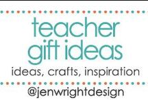 Teacher Gifts Ideas / Sharing ideas, crafts & inspiration for teacher gifts to inspire memory making for future scrapbooking layouts.- www.jenwright.net / by Jen Wright