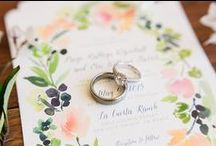 Wedding Spring Fling / Spring into love with feminine florals, pretty pastels, and casual comforts.  / by Beau-coup