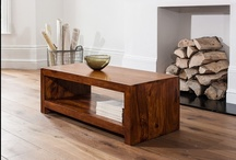 Coffee Tables / From simple, open tables to trunks, chests and blanket boxes, Satara offer a wide selection of solid wood coffee tables, hand-crafted from Mango, Sheesham and Acacia wood and delivered to your living room.