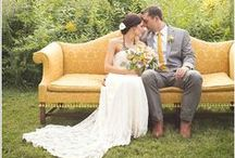 Hello Yellow! / A yellow wedding theme is the perfect way to celebrate springtime romance.  / by Beau-coup