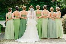Shades of Green Wedding