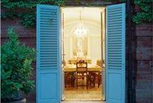 aDOOR / style the door you walk in ... adventures await  / by bo joplin