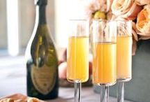 Bridal Shower Brunch / Yummy ideas and inspirations for the bridal party that brunches.