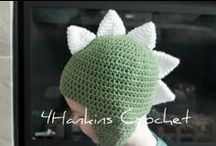 Crocheted Hats - Baby/Kids / by Cindy Peistrack