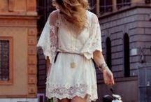 Little White Dresses / by MyStyleDiaries