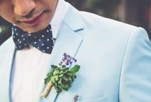 Bluesy Love / Shades of blue to inspire your wedding! / by Beau-coup