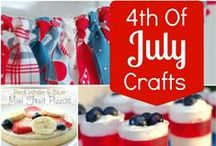 4th of July Ideas, Crafts & Games / Sharing ideas, crafts & activities for 4th of July to inspire memory making  / by Jen Wright