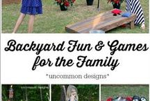 Backyard Games & Ideas / Sharing games, activities & more for backyard fun to inspire memory making / by Jen Wright