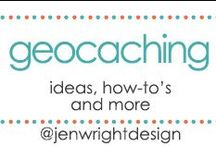 GeoCaching / created by Jen Wright Designs featuring how-to's, ideas & inspiration for geocaching. Blog-www.jenwright.net / by Jen Wright