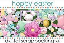Scrapbooking Kits:Easter / Scrapbook Kit for Easter made by Jen Wright Designs at http://www.jenwright.net / by Jen Wright