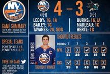 Post-Game Infographics / Follow post-game infographics during the 2014–15 season and the #Isles on Instagram at @NY_Islanders. / by New York Islanders