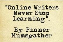 Online Writing / Everything that will help and online writer who writes on blogs and other revenue sharing websites including tips, tools and more.