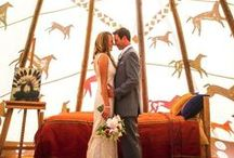 Southwestern Themed Wedding / Inspired by the colors, geometric shapes, cactus plants, arrows, dream-catchers, and boho-chic-ness of the southwest!  / by Beau-coup