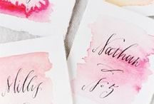Watercolor Wedding Inspiration / Watercolor designs and water color themed weddings.  / by Beau-coup