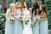 Grayed Jade Wedding / Grayed Jade and Dusty Blue wedding inspiration. / by Beau-coup
