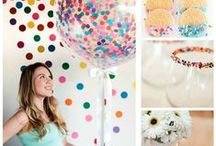 Baby Sprinkle / Sprinkle baby with love and a fun colorful party!