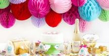 Colorful Confetti Party! / Throw a colorful confetti party for your birthday!