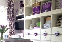 Dream Craft Room / In our house I have a dedicated craft room? This board is full of craft room inspiration and organisation ideas