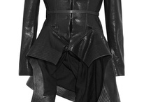 Fashion & style file / An example of the ultimate leather skirt! / by Why?