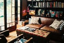 Home Office / Library / by Ashley Miller