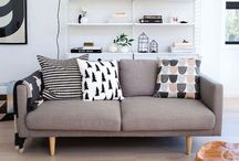 Home / Modern Scandinavian style interiors, colour palettes, furniture ideas, decorating ideas, storage ideas and more.