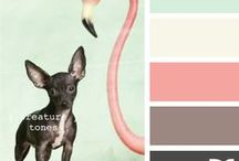 color palettes. / by Sarah Anne