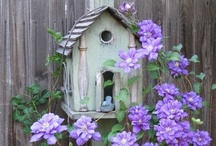 HOME TWEET HOME! / Birdhouses are enchanting homes for our little feathered friends. Sometimes other critters are invited in! Some are decorative, some whimsical, some weathered...I love them all! / by Jane McWilliams Moseley