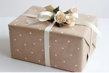 Gift Wrapping Ideas / Gift wrapping can really make a special present even more special - here are ideas for gift wrapping or making your own gift wrap
