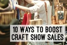 Craft Fairs Tips and Tricks / Inspiration, ideas and tips for having a table at a craft fair including display ideas