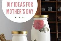 Mothers Day Gift and Craft Ideas / Gift ideas to make yourself or buy to give your Mum on Mothers Day