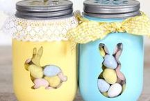 Easter Crafts and Gifts / A board of inspiration for Easter - cooking, baking, decorating and crafts, especially for the children