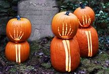 Halloween Craft and Recipe Ideas / Celebration ideas for Halloween including crafts, decorations and party food