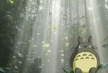 Totoro & others from Ghibli