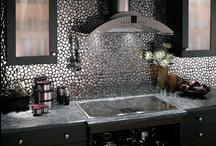 Kitchen Backsplashes / The Many Designs For Kitchen Backsplashes / by Allen Pfannenstill