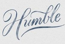 FONTS /// / Beautiful font ideas for your website.