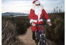 look who's ridin!  / famous folks captured on bikes / by Green Guru Gear