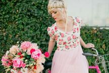 Weddings-Blush-Pink-Fuchsia / Selections of wedding designs in the shades of Pink. / by Walking On Sunshine