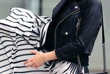 BLACK + WHITE /// / A collection of images and outfits for women centered around black and white