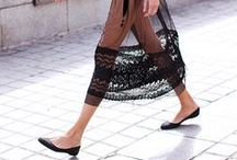 SHEER /// / A collection of images dedicated to the sheer trend in fashion